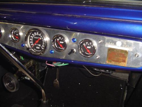 Manual Fan on and off switch with blue power light